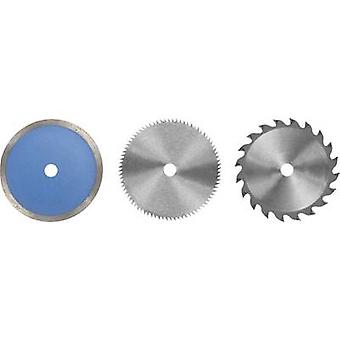 Circular saw blade set 85 x 10 x 1.6 mm Einhell 4502128 6 pc(s)