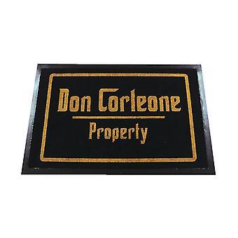 Don Corleone eigenschap Vloermatten gemaakt van 100% polyamide en antislip PVC bodem