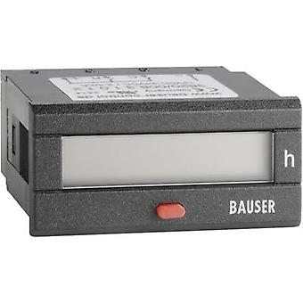 Bauser 3820/008.3.1.0.1.2-001 Digital time counter - Twin technology type 3820 operating hours counter with operating hours counter (HG)