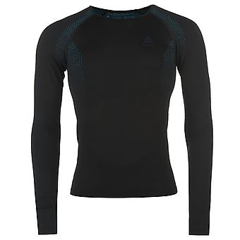 Odlo Mens Essential Training Shirt Long Sleeve Round Neck Lightweight Breathable