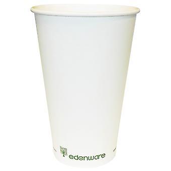 Edenware compostabili monoparete tazze 16oz