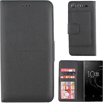 Colorfone Wallet Sony Xperia XZ1 Plånboksfodral BLACK