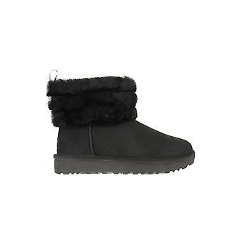 Zapatos de mujer UGG pelusas Mini acolchada invierno universal de 1098533BLK
