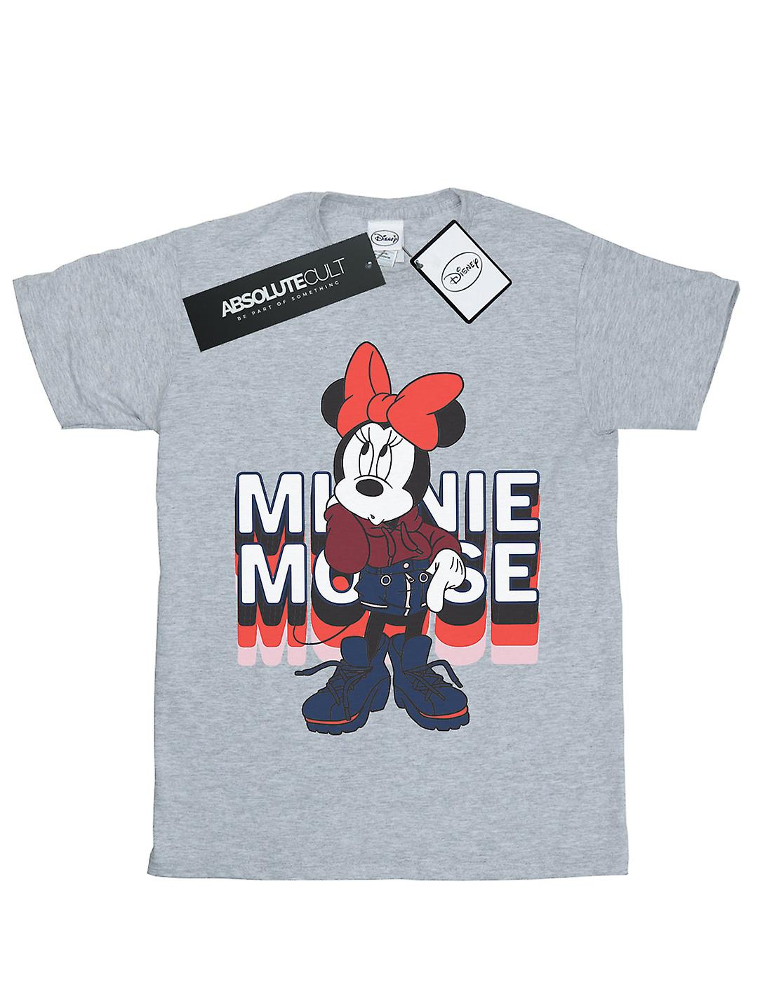 Disney Girls Minnie Mouse In Hoodie T-Shirt