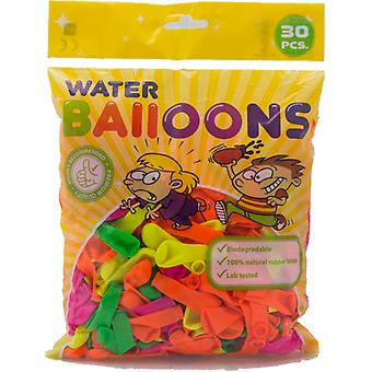 Water balloons different colors - 30-pack
