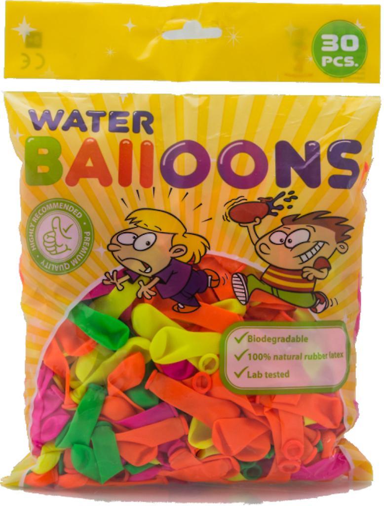 30-p Vattenballonger olika färger - 8 cm (3
