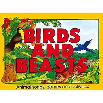 Ptaki i zwierzęta: zwierzęta piosenki, gry i zabawy (Śpiewniki i nuty)