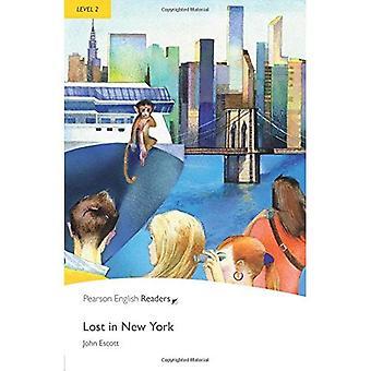 Vilse i New York: nivå 2 (Penguin Longman pingvin läsare)