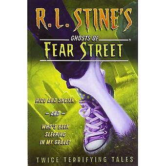 Ukryj i krzyk i kto spał w moim grobie?: dwa razy przerażające opowieści (duchy strach Street (nienumerowane))