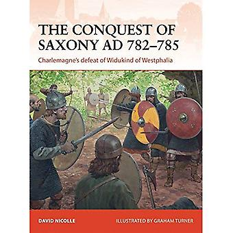 The Conquest of Saxony AD 782-785 (Campaign 271)