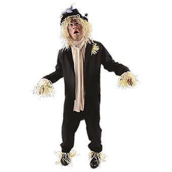 Mens Worzel Gummidge Scarecrow 70s 80s TV Fancy Dress kostuum