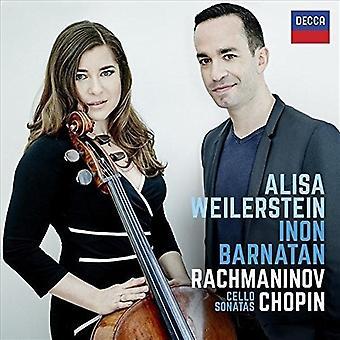 Weilerstein/Barnatan - Rachmaninov & Chopin [CD] USA import