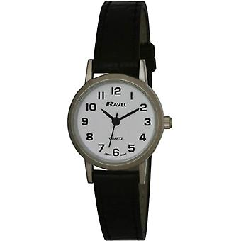 Ravel R 0102.02.2-wristwatches, nainen, muovi, väri: musta
