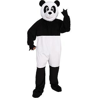 Traje de los hombres la mascota Panda