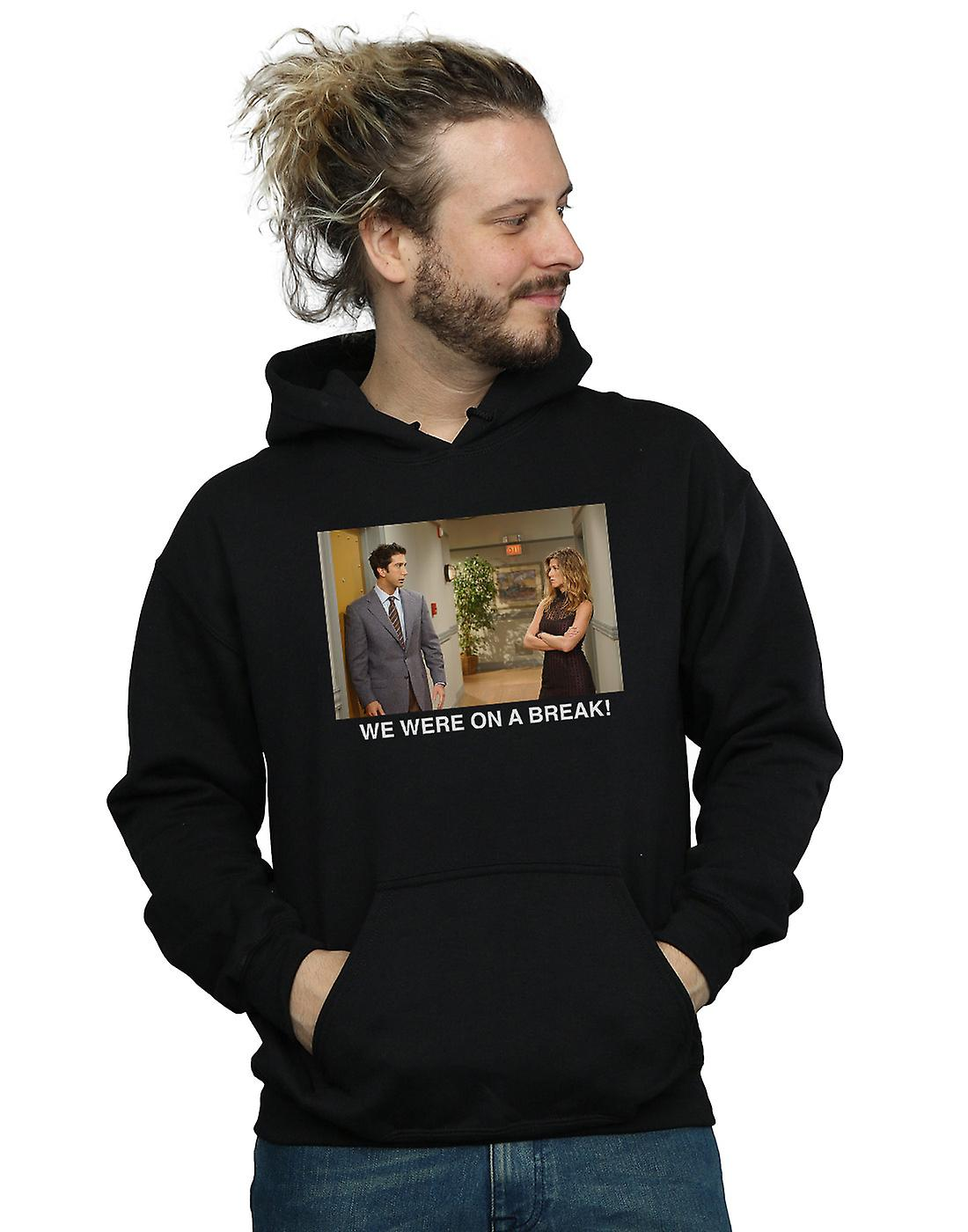 Friends Men's We Were On A Break Hallway Hoodie