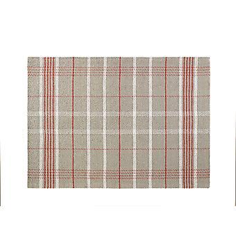 Winnie Tartan Natural  Rectangle Rugs Plain/Nearly Plain Rugs