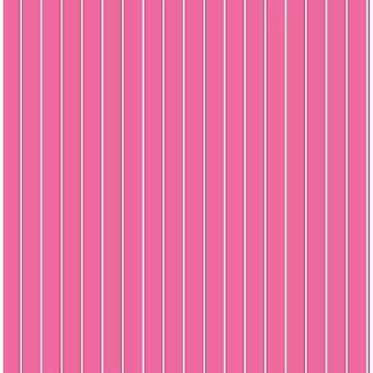 Raya papel pintado líneas modernas forrado rayas chicas Blanca Rosa dormitorio Decorline