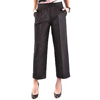 Moschino Ezbc015002 Women's Black Cotton Pants