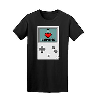 I Love Gaming Vintage Console Tee Men's -Image by Shutterstock