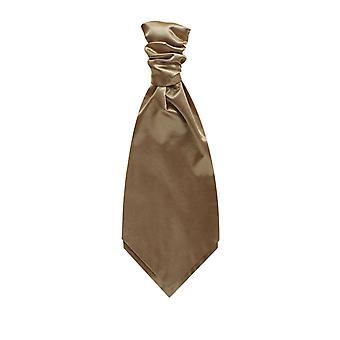 Dobell gutter kaffe sateng Cravat Party bryllup Fancy kjole tilbehør