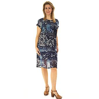 POMODORO Dress 81937 Indigo