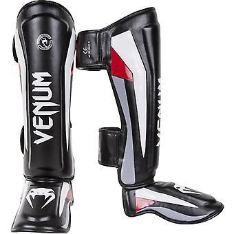 Venum Elite MMA Sparring Standup Shinguards with Instep - Black