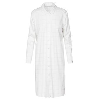 Féraud 3883159 Mulheres's High Class Plaid Cotton Sleep Shirt Nighty Nighty Nightshirt