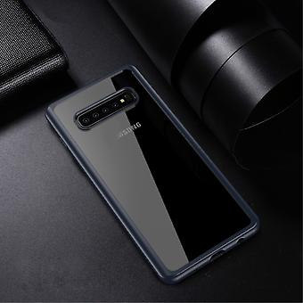 IPAKY Samsung Galaxy S10 + TPU Hybrid Shell-Blue