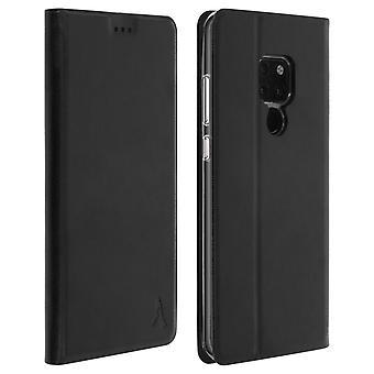 Akashi slank veske, flip lommebok deksel til Huawei mate 20-svart