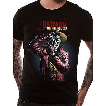 Men's The Joker Killing Joke Black T-Shirt