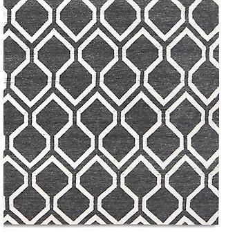 Teppiche - Medina - schwarz gewaschen