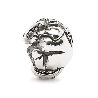 Trollbeads Chinese Zodiac paard zilveren kraal TAGBE-40026