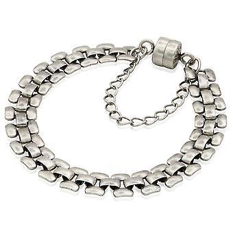 Alex And Ani Glam Magnetic Armband-Rafaelian Silver