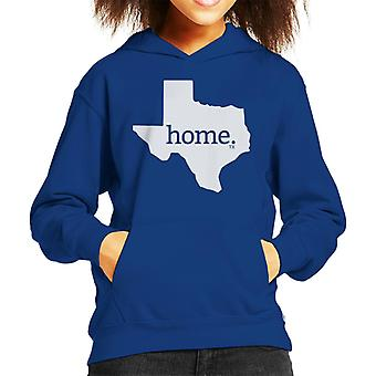 Texas Is My Home Flock Kid's Hooded Sweatshirt