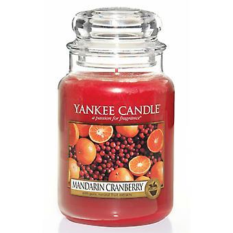 Yankee Kerze klassische große Jar Mandarin Cranberry Kerze 623g