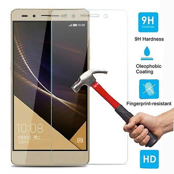 iCoverCase | Huawei Honor 7 | 2-Pack Skärmskydd | Härdat Glas