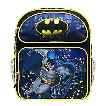 Medium Backpack - DC Comics - Batman Yellow/Black BN35159