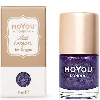 MoYou London Stamping Nail Lacquer - Last Dragon 9ml (MN047)