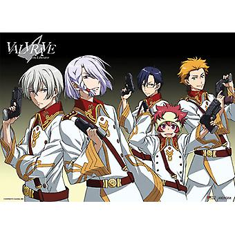 Fabric Poster - Valvrave The Liberator - New Dorssian Agents Wall Scroll ge77558