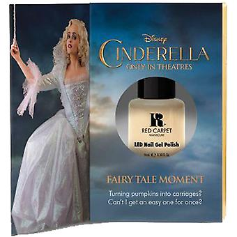 Red Carpet Manicure Limited Edition LED Gel Nail Polish - Disney Cinderella Collection - Fairy Tale Moment 9ml