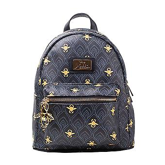 Aladdin Backpack Pattern all over print logo new Official Disney Black Womens