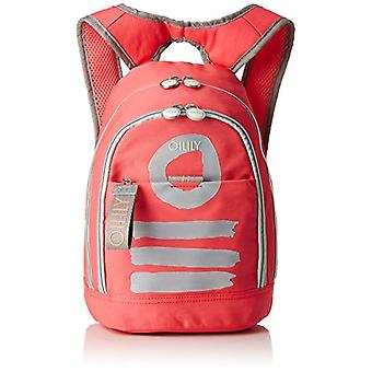 Oilily Fun Nylon Backpack Svz - Women Pink Backpack Bags (Pink) 15x32x23cm (B x H T)