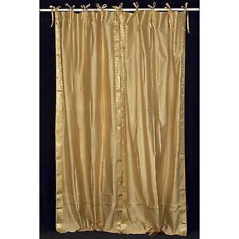Tenda Top Sheer Sari d'oro cravatta / drappo / pannello - pezzo