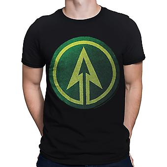 Green Arrow Symbol Men's T-Shirt