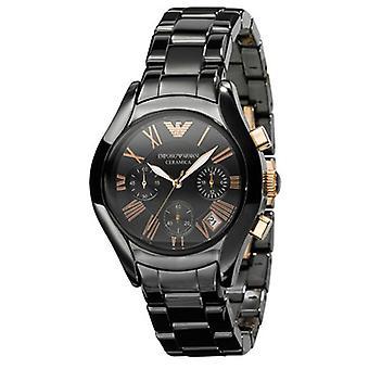 Armani Ar1411 - Unisex Black Ceramica Designer Watch