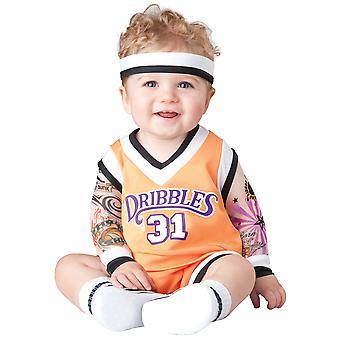 Double Dribble Basketball Player Sport Slam Dunk Infant Baby Boys Costume