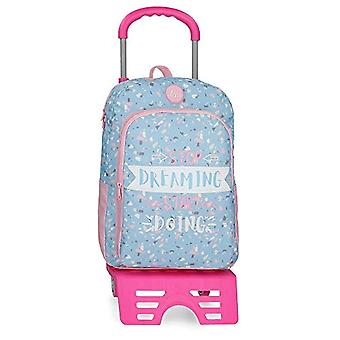 Roll Road Dreaming Backpack 40 centimeters 15.6 Blue (Azul)