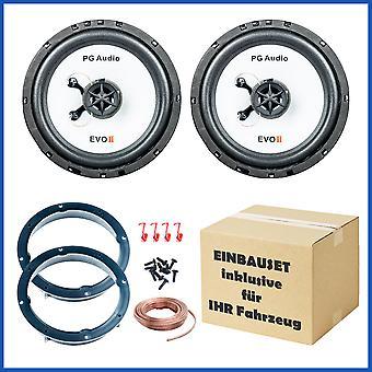 Lancia Y Fiat idea Fiat Croma speaker mounting kit door front PG audio