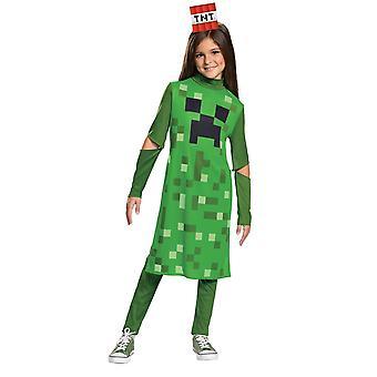 Dievčatá Creeper kostým-Minecraft
