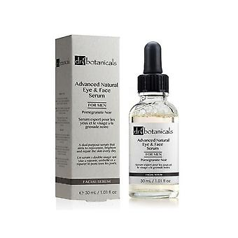 Dr. botanicals pomegrante noir advanced natural eye & face serum for men